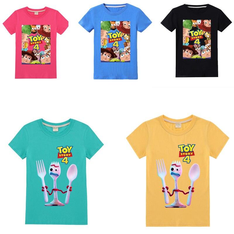 Nuevo estilo de dibujos animados de la película wan ju Camiseta de algodón para niños de moda de manga corta niños ropa divertida de niño/niña 4-12Y Cosplay
