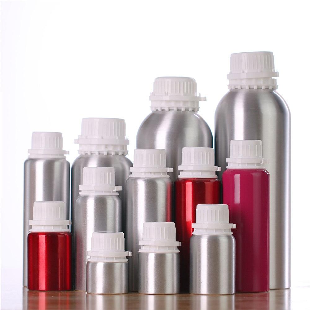Aluminum Perfume Bottle Portable Empty Container Travel Basic Oil Bottle Anti-theft Stopper Cosmetic Sub-bottling недорого