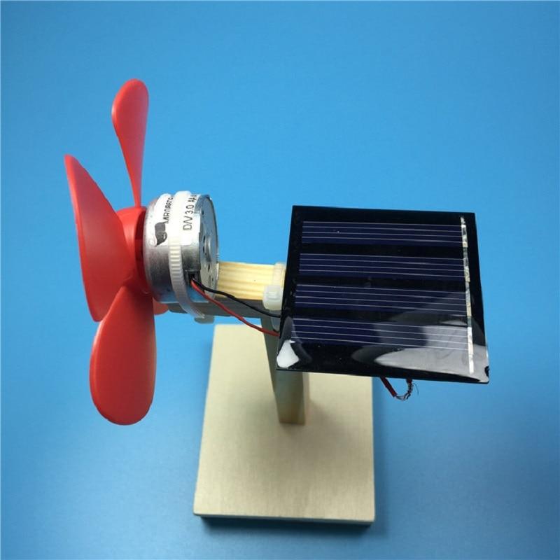 Solar Fan DIY Наука и технологии, набор для небольших научных экспериментов, детские развивающие игрушки 2021