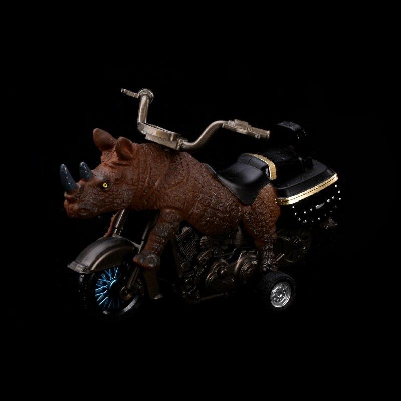 Rinoceronte Brinquedos Modelo de Moto Off-Road Do Veículo Esporte De Corrida de Moto Crianças Presentes Brinquedos Simulacional