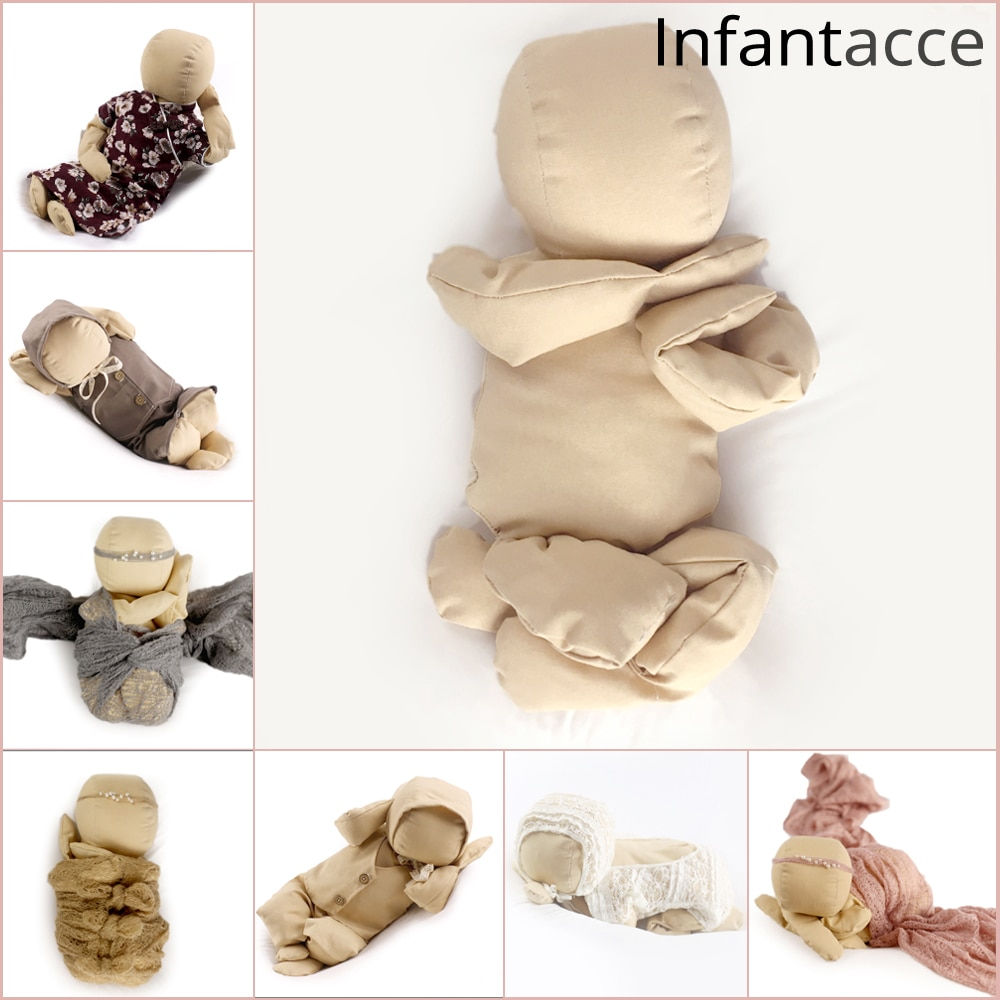Newborn Posing Doll Model Baby Photography Props Accessories Photo Shooting Studio Simulation joint Training practice modeling