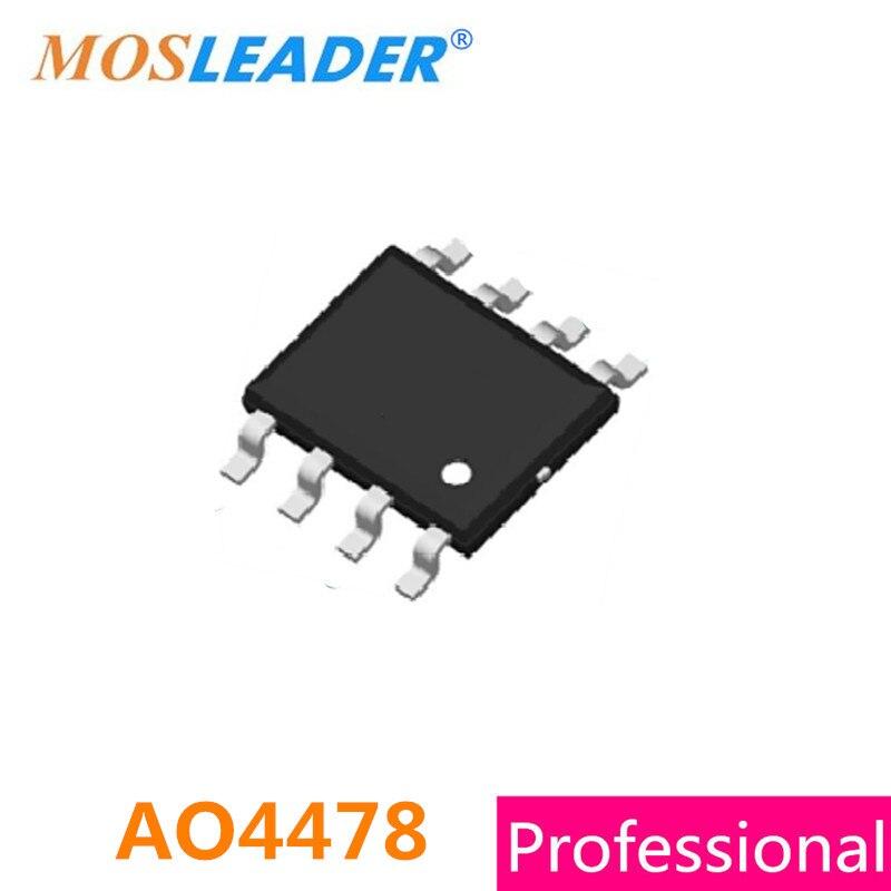 AO4478 SOP8 100 قطعة 30V 9A N-قناة 4478 عالية الجودة