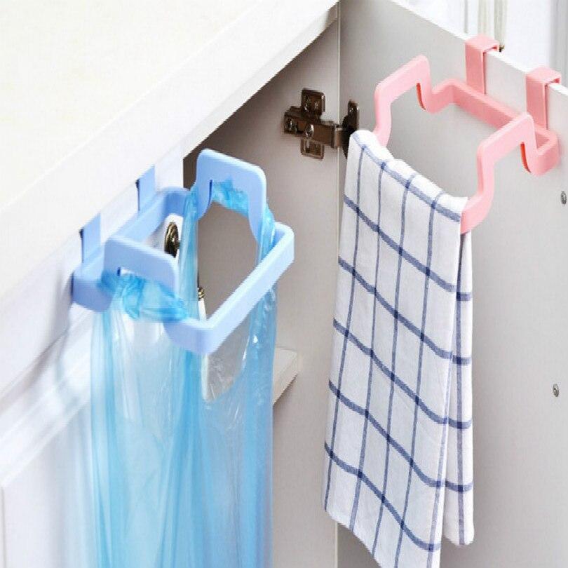 universal garbage bag bracket trash bags clip rubbish holder 2pcs/lot free shipping