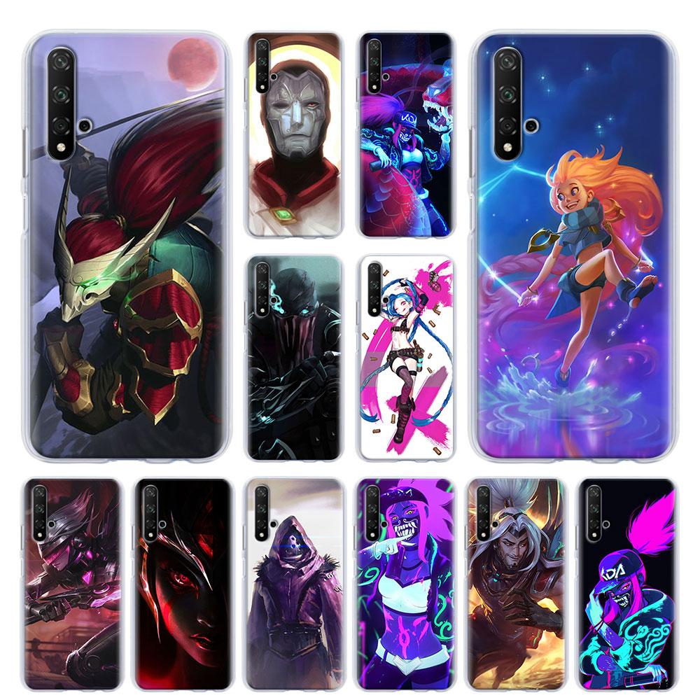 Чехол для телефона League of Legends LOL для Honor 20 Pro 10 20 Lite 20i Honor 8X 9X 8A Pro 8C 8S Play 3e
