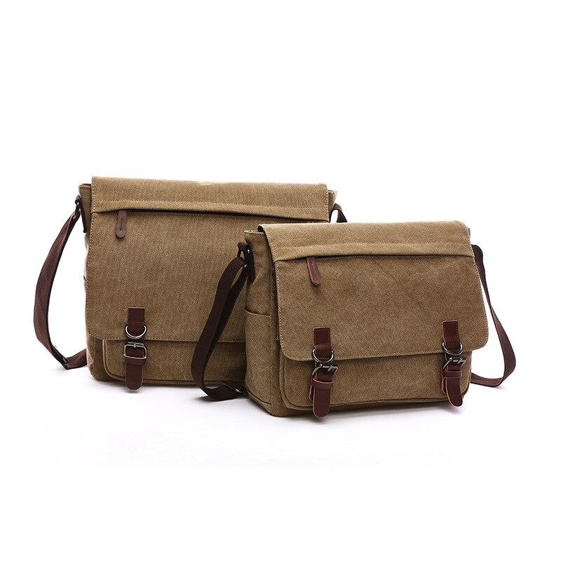 Bag for Men 2021 New  and Women Shoulder Messenger Bag Wild Canvas Bag Practical Business Computer Bag Fashion Street Bag