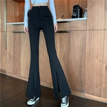 NN Nana ~ Spring New Elastic Slim Fit Slimming Casual Pants Women's Korean Style High Waist Drooping