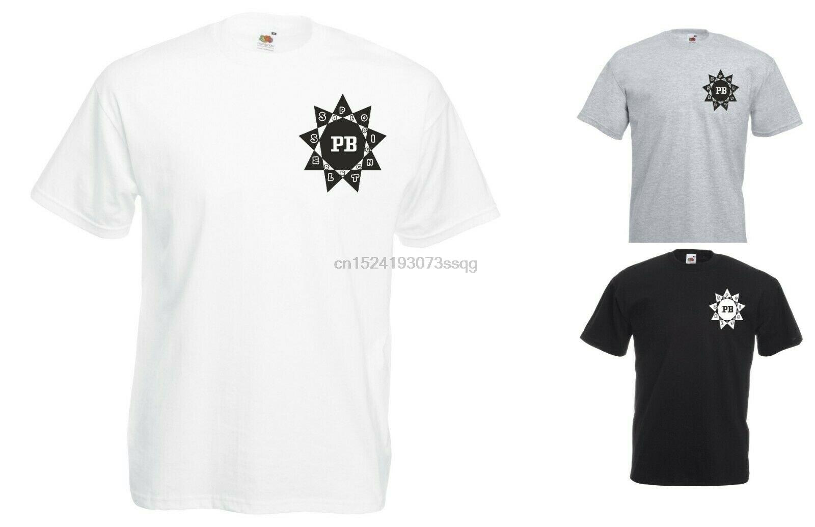 Camiseta estampada de pecho Alfie Deyes, diseño de estrella, bloguero sin sentido