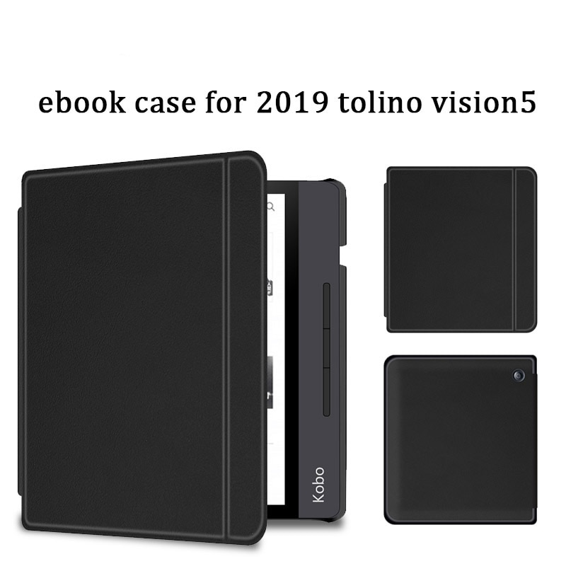 Pu Leather Case For 2019 Tolino Vision 5 Ebook Ereader Cover