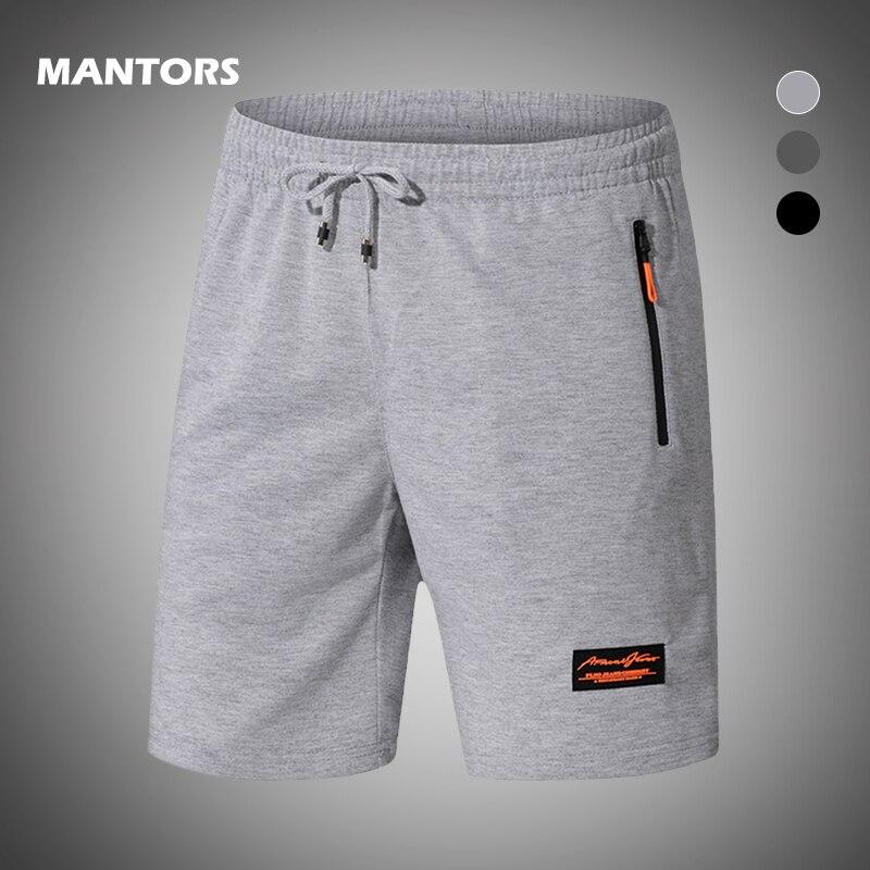 2020 sommer Shorts für Männer Fitness Kurze Jogger Casual Fitness-Studios Männer Shorts Jogginghose Kordelzug Kurze Hosen mit Zipper Taschen