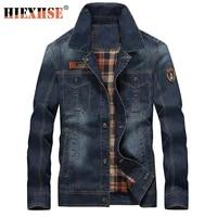 spring mens denim jacket trendy fashion ripped denim jacket mens jean jackets male bomber windbreaker cowboy coats 4xl