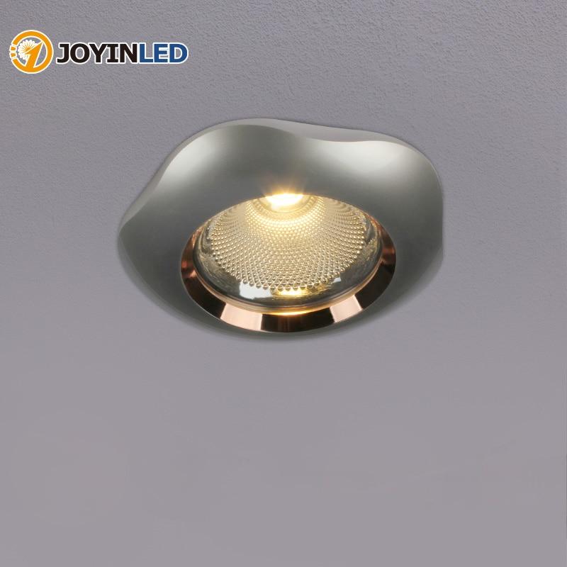 Nuevo diseño Anti Glare COB proyector descendiente de Led iluminación empotrado 7W...