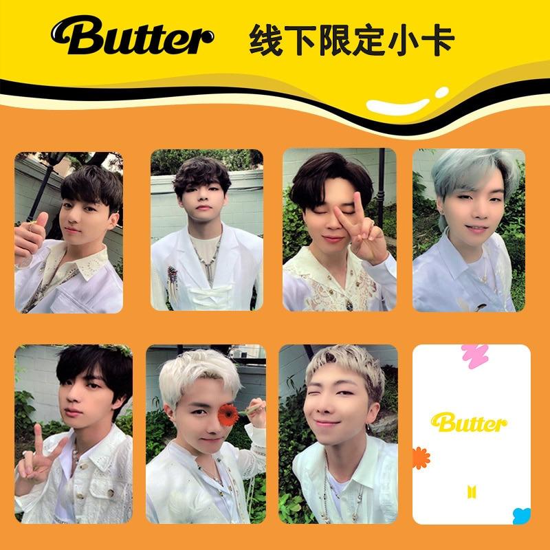 KPOP Bangtan Boys новый альбом масло ограниченные автономные карты SmallCard рандомик полароксидиферийная Корея группа