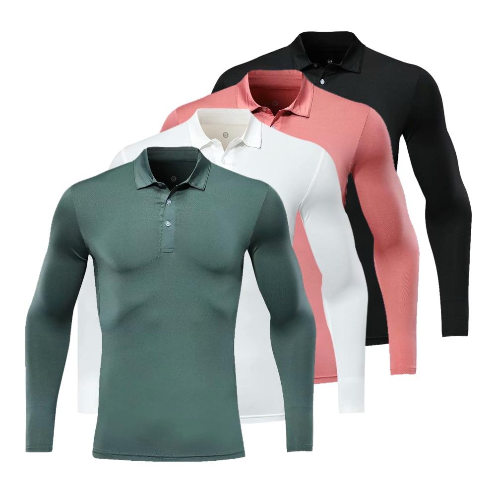 Nieuwe Golf Wear Ademende Lange Mouw Golf Shirt 4 Kleuren Shirt S-XXL In Kiezen Golf Kleding Shirt