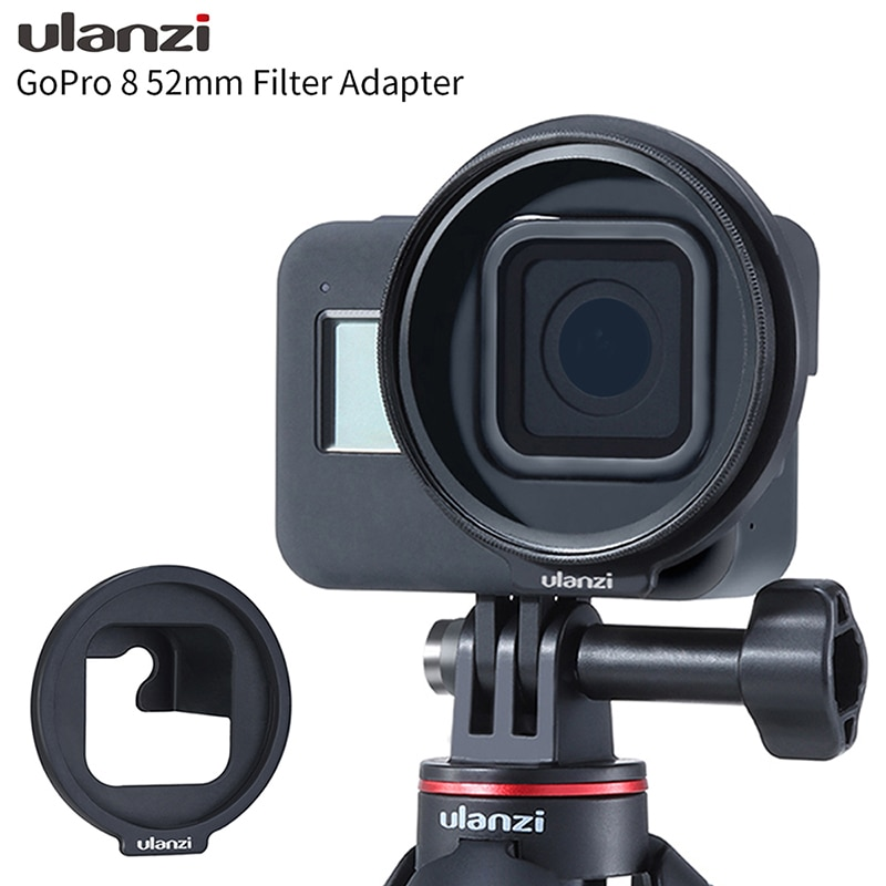 Ulanzi G8-6 is suitable for GoPro8 dog 8 sports camera accessories 52mm filter adapter ring bracket