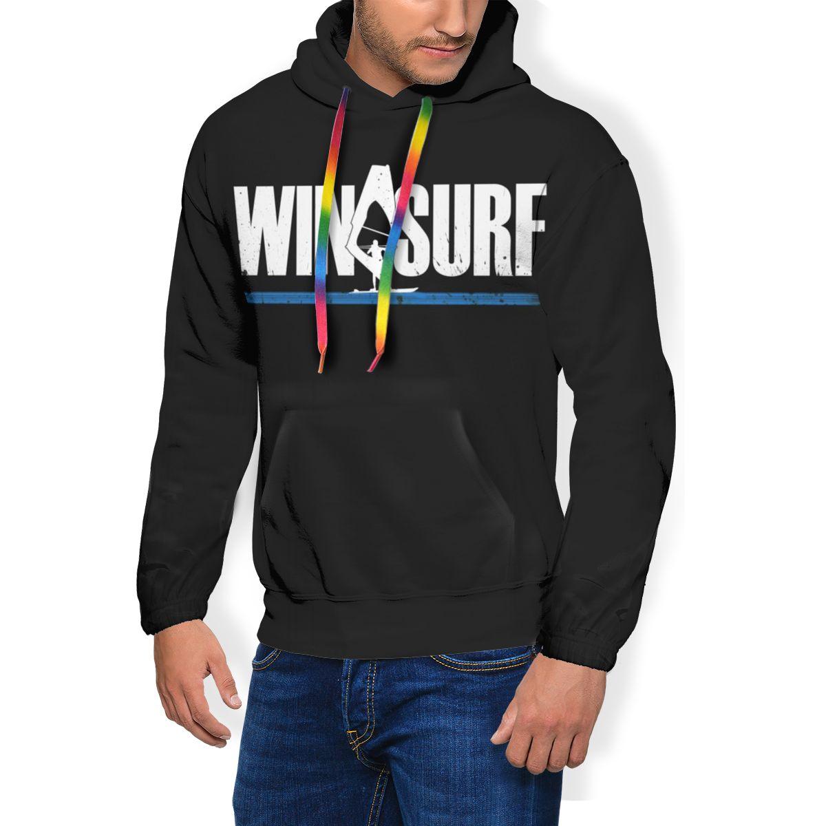 Виндсерфинга Толстовка виндсерфинга веревка для толстовки хороший большой пуловер худи из полиэстера