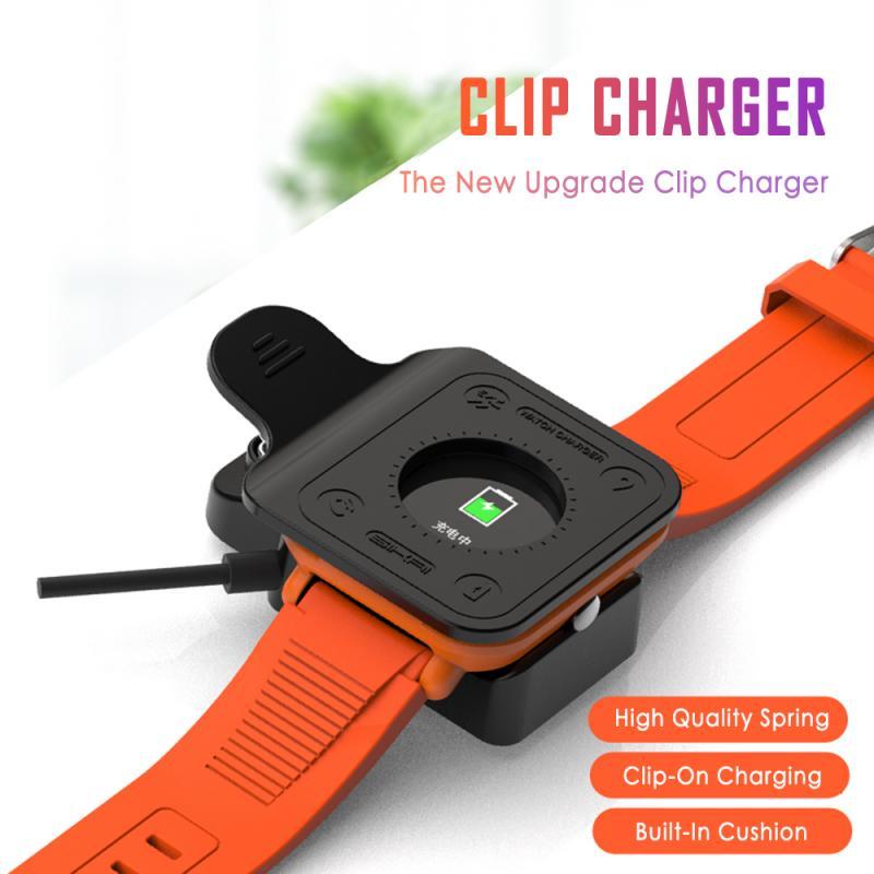USB магнитное зарядное устройство для Xiaomi Huami Amazfit Bip Youth Смарт-часы зарядные устройства Быстрая зарядка кабель Колыбель зарядное устройство З...