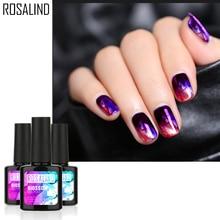 Rosalind гель 1S цветение 10 пилка для ногтей BeautySoak Off DIY Дизайн ногтей прозрачный цветок гель лак УФ экологичный гель лак