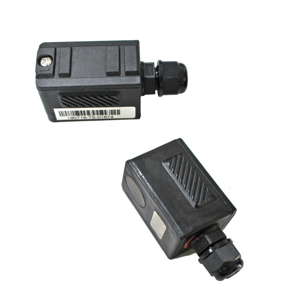 Portable Handheld Clamp-on High-tem Ultrasonic Flow meter Sensor TS-2-HT (-30~160℃) high temperature Transducer