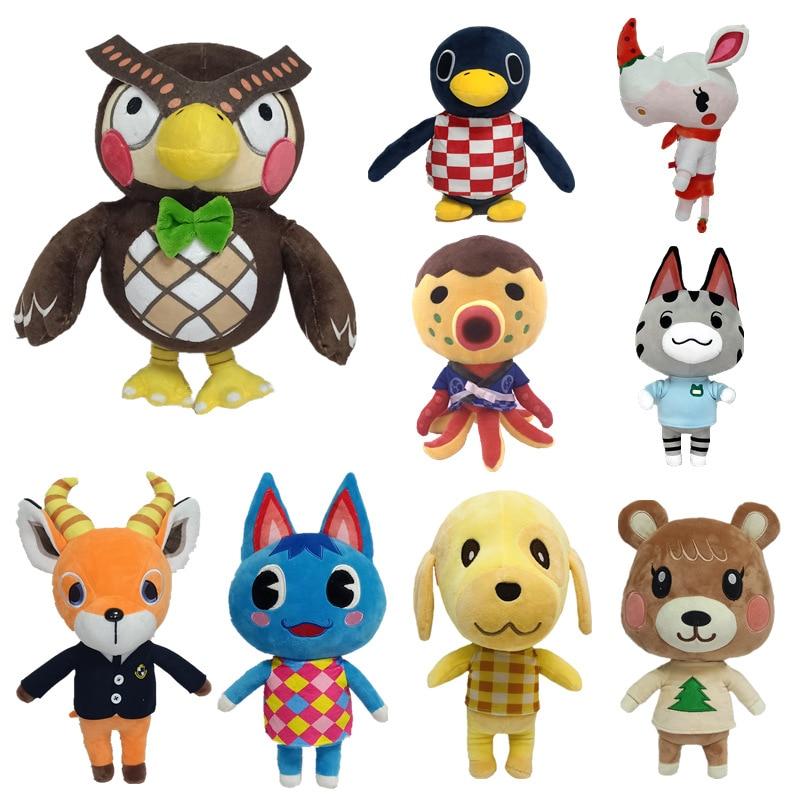2020 animal cruzamento brinquedo de pelúcia novos horizontes jogo animal cruzamento amiibo marshal brinquedo de pelúcia boneca presentes para crianças
