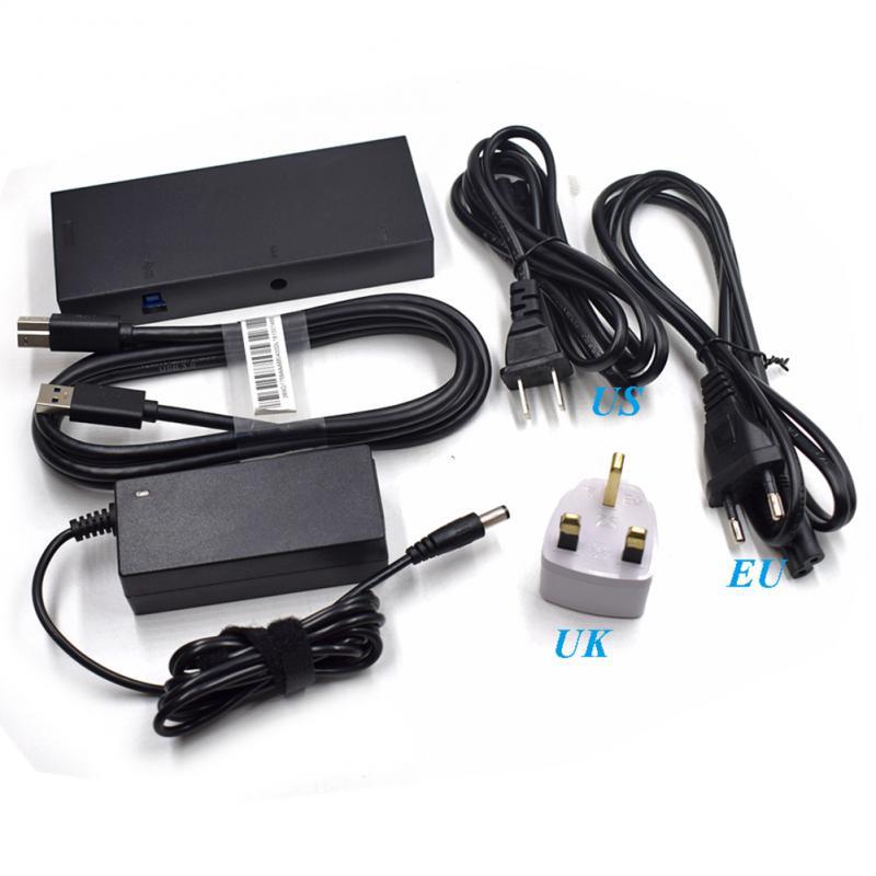 2019 nueva versión adaptador de Kinect 2,0 V2 movimiento Sensor de movimiento Control de movimiento fuente de alimentación de CA para Xbox one S accesorios de coche