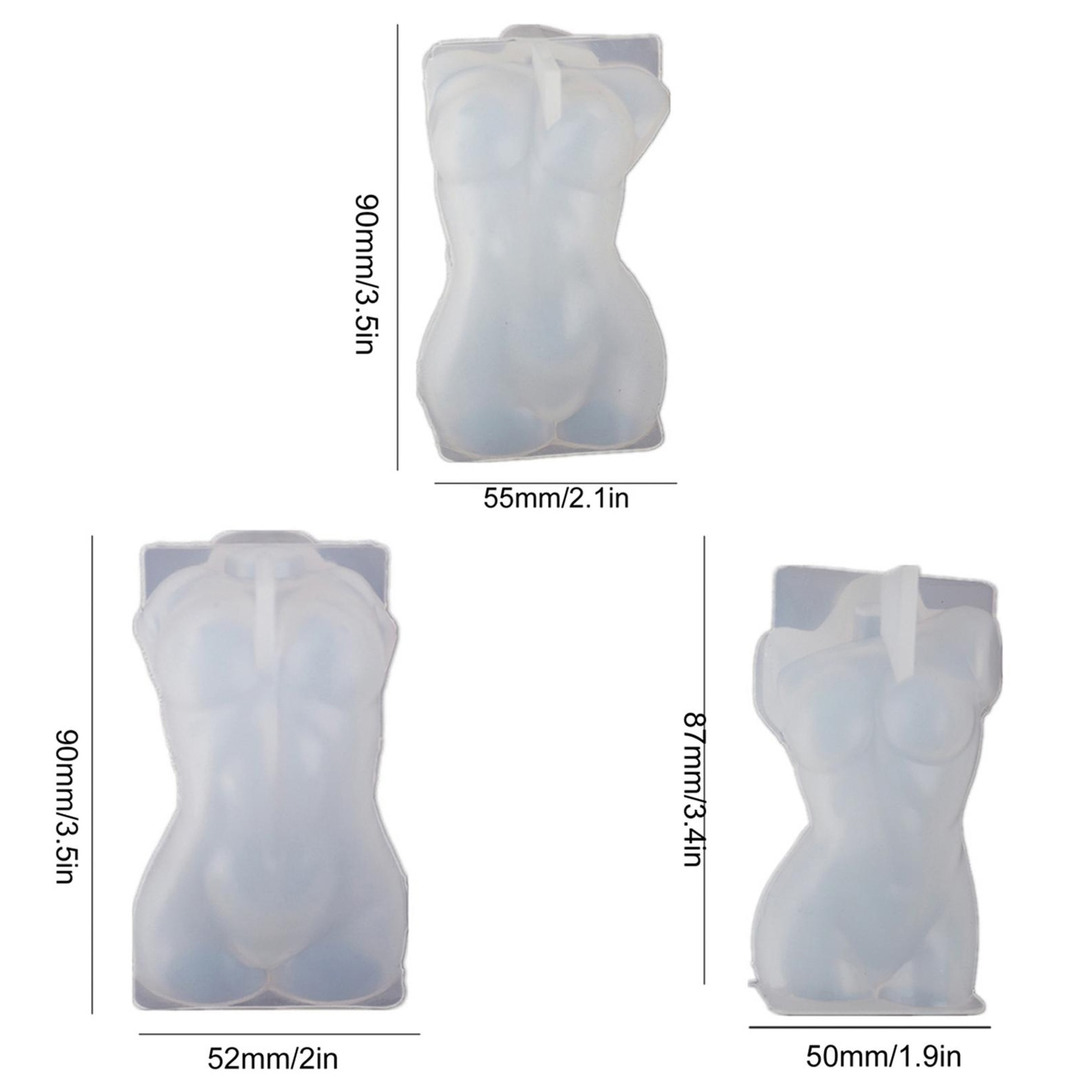 Silicone Mold Woman Body Soap Molds 3D Human Candle Gypsum Chocolate Candle Valentine's Day Cake Mold Clay Resin Moulds Dropship  - buy with discount