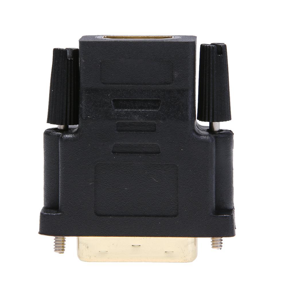 HDMI-conector hembra a DVI 24 + 1pin macho Cable Adaptador convertidor