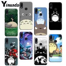 Yinuoda Hayao Miyazaki Totoro baskılı desen telefonu Xiaomi 5 9t 9 max2 Redmi note8Pro note5 note7 not 8t 9 note9s note9pro