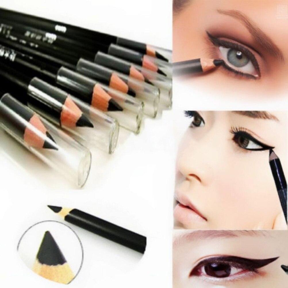 1Pc Waterproof Eyeliner Pen For Women Lady Eyeliner Pencil Long-lasting Black Eye Liner Makeup Beaut