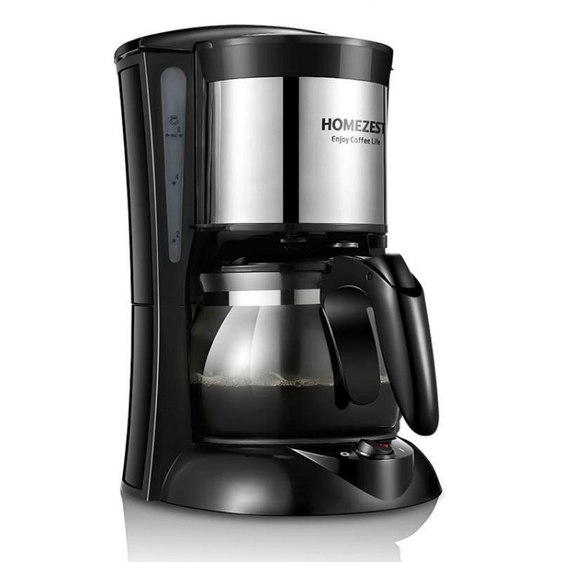 Espresso pequeno máquina de café elétrica máquina de café máquina de café máquina de café americana com moedor de feijão e espuma de leite