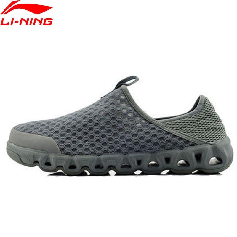 (Código de ruptura) li-ning zapatos para el agua para uso en exteriores de malla transpirable acolchado forro Li Ning Arch zapatillas deportivas AHLJ007 XYD105