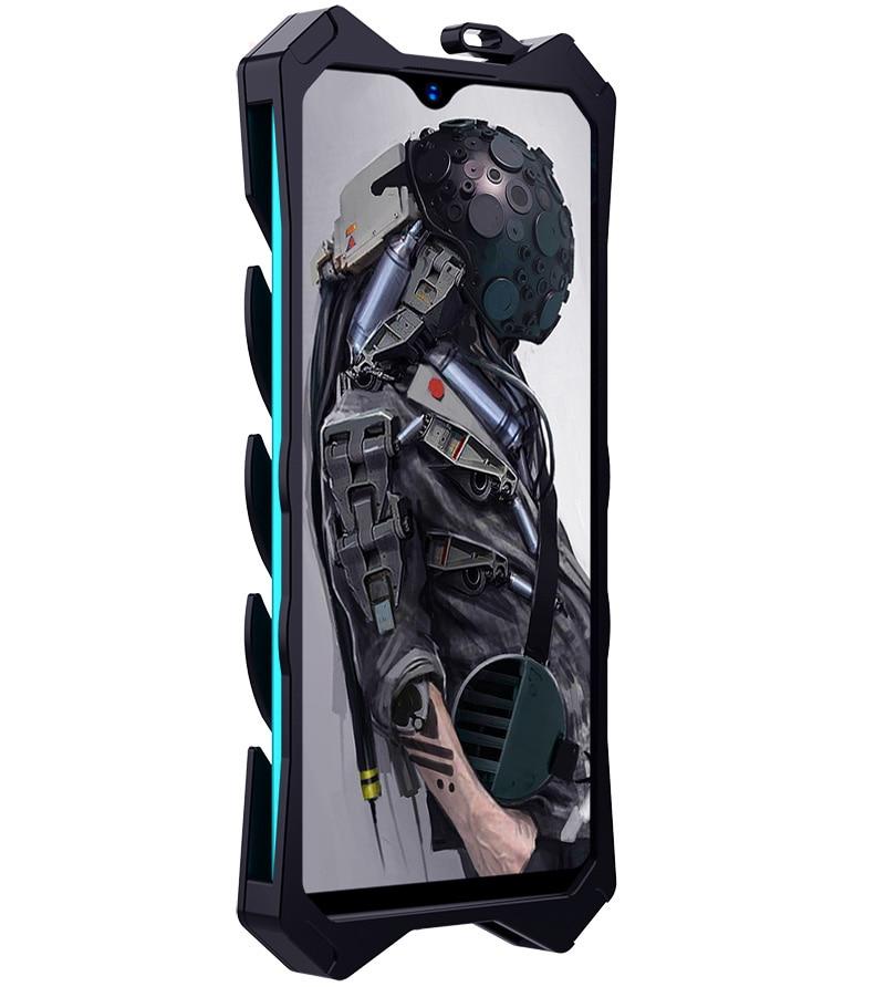 زيمون درع-غلاف هاتف مقاوم للصدمات ، إطار خارجي قوي ، ألومنيوم ، متوافق مع Honor 20 20I 8X 30 V20 V30 PRO