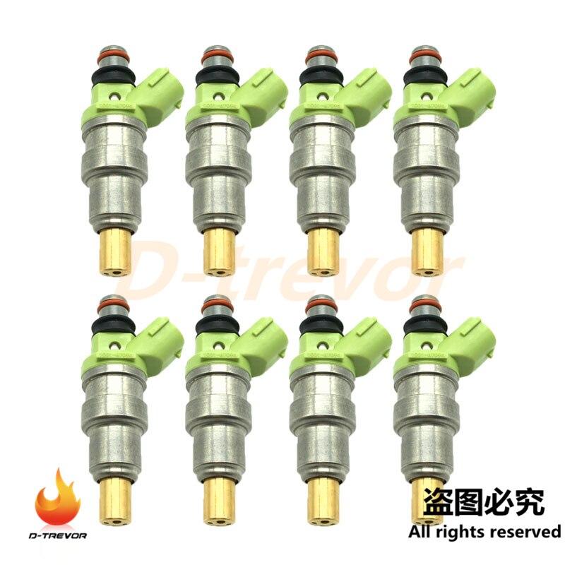 8 Stuks 1001-87096 Injectoren Nozzle Voor Mazda RX-7 Nissan Skyline GT-R Mitsubishi Lancer