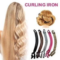 new heatless curling rod headband no heat curls ribbon hair rollers sleeping soft headband hair curlers diy hair styling tools