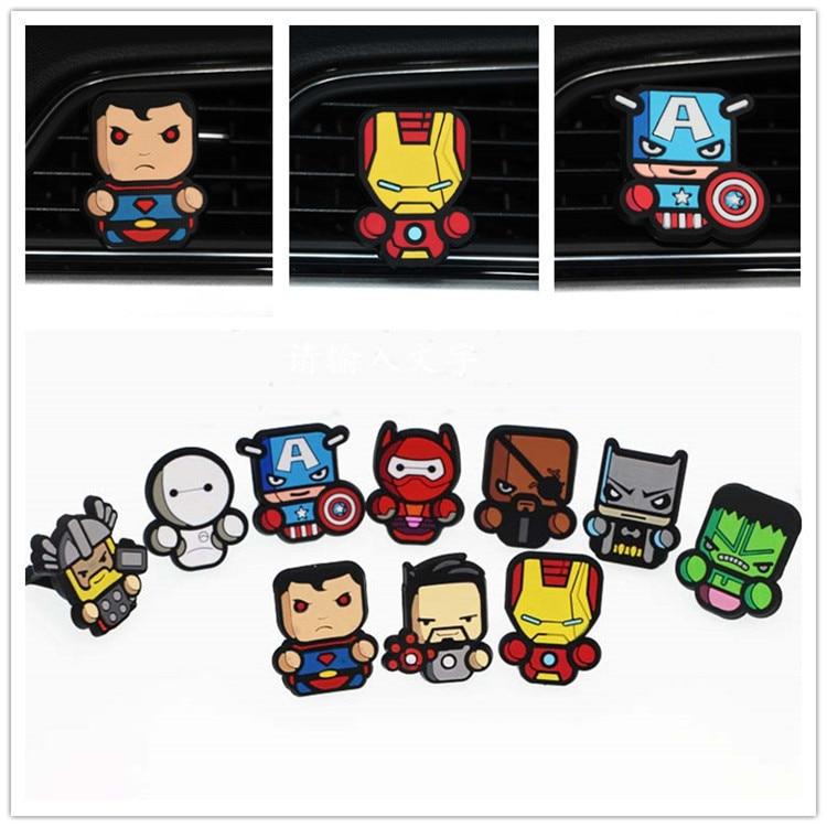 Союз Мстителей, анимация, автомобильный Кондиционер, автомобильные аксессуары, автомобильные аксессуары, Мультяшные аксессуары, автомобил...