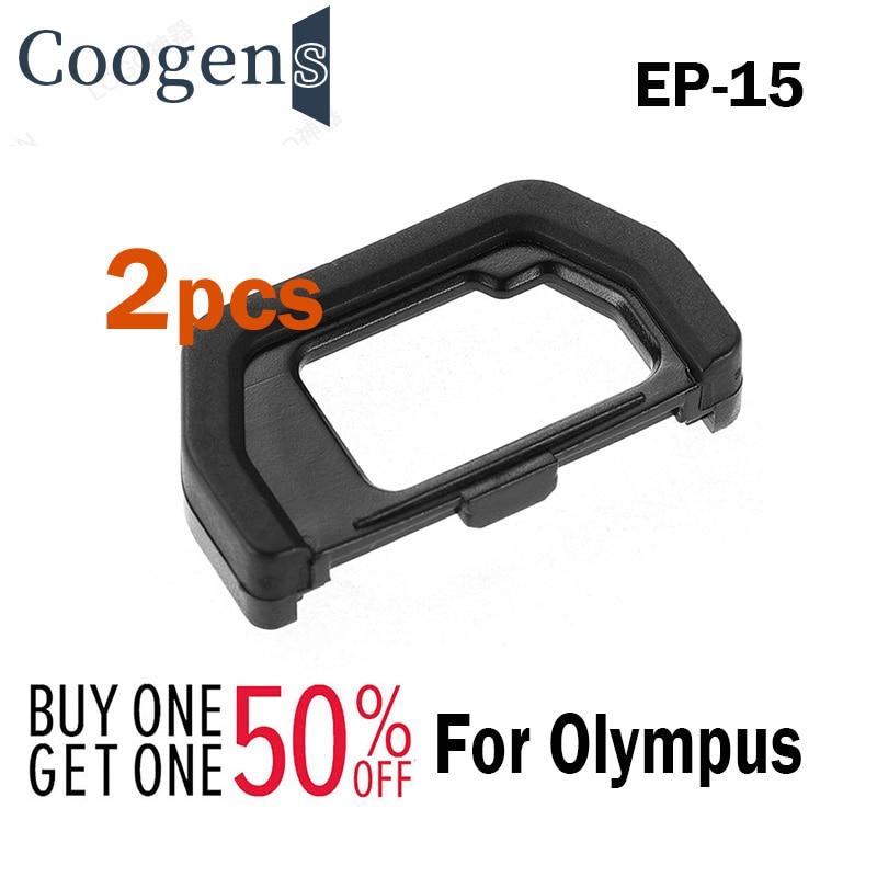 2pcs EP-15 Hard Viewfinder Eyecup Eyepiece Replace EP15 for Olympus OMD EM5 Mark II EM10 Mark II EM5II EM10II Camera Accessories