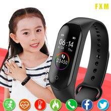 Smart Watch Kids Watches Children For Girls Boys Sport Bracelet Child Wristband Portable wristband F