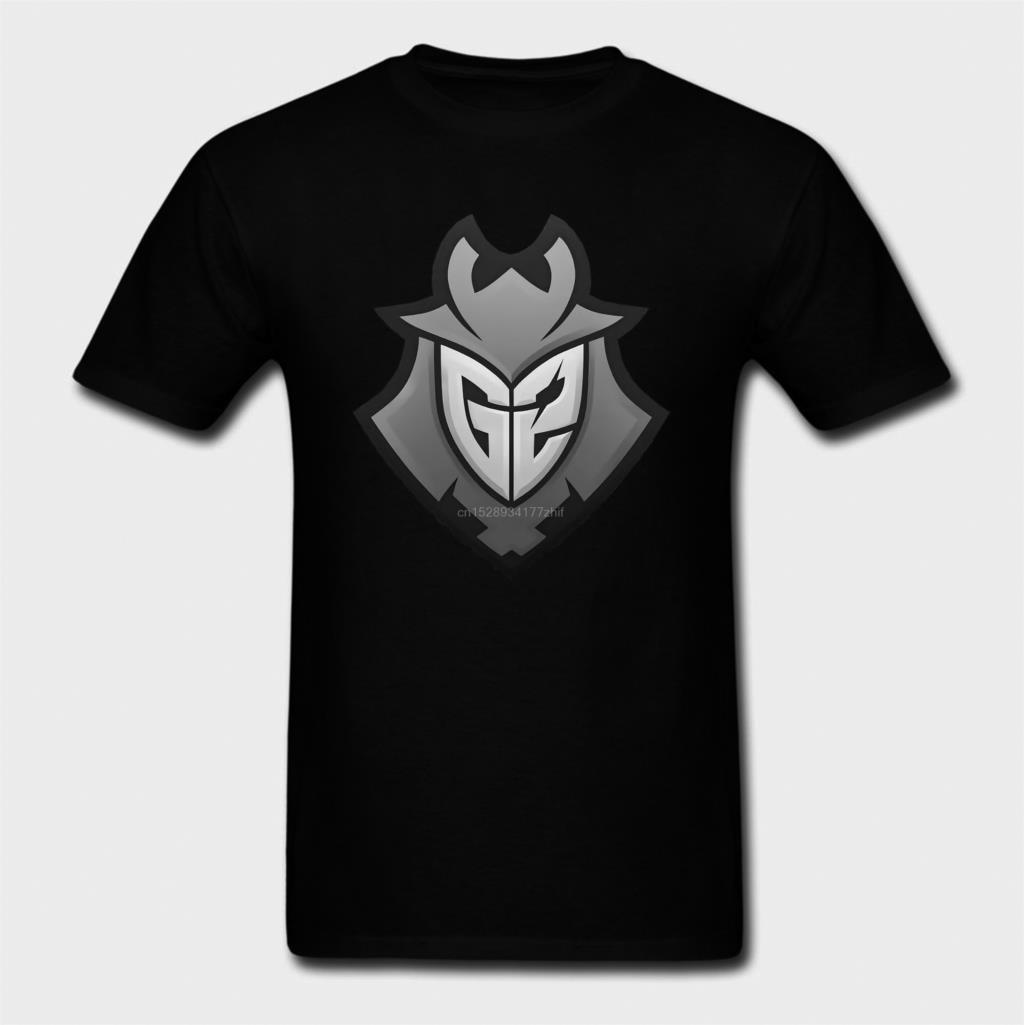 Camiseta G2 Esports para hombre de camisa de manga corta con cuello...