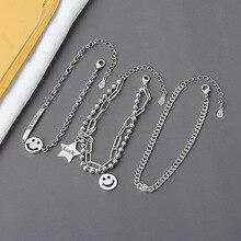 SIPENGJEL – Bracelets ajustables pour femmes, bijoux de mariage, couleur argent