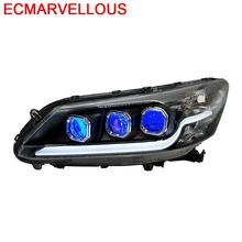 Luces Para 자동차 액세서리 부품 자동차 Drl 스타일링 Led 헤드 라이트 Rear Car Lights Assembly 14 15 16 17 Honda Accord