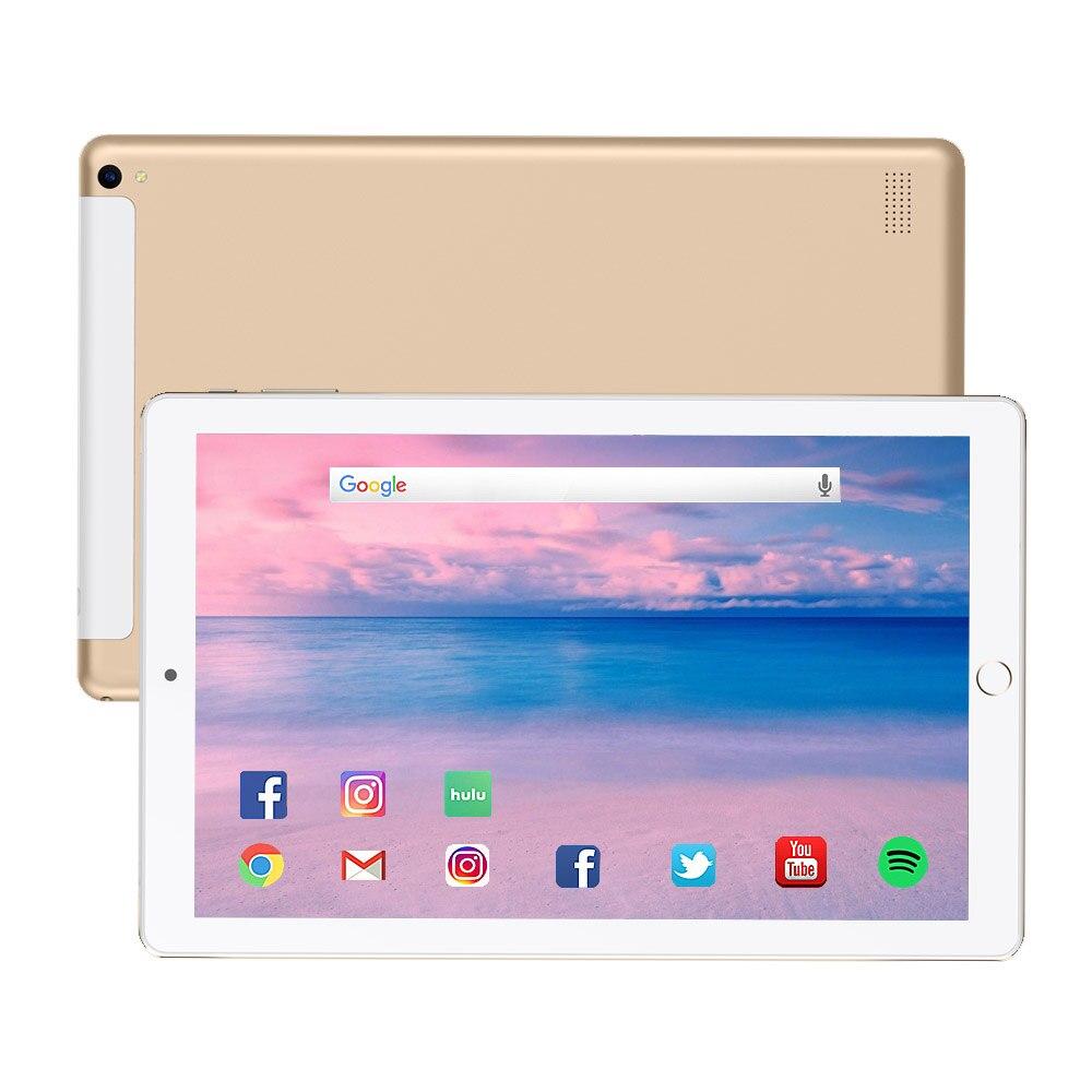 O envio gratuito de 10 polegada tablet pc 10 núcleo 2020 android 8.1 tablet 6g ram 128gb rom ips duplo sim telefone guia telefone tablet tablet comprimidos
