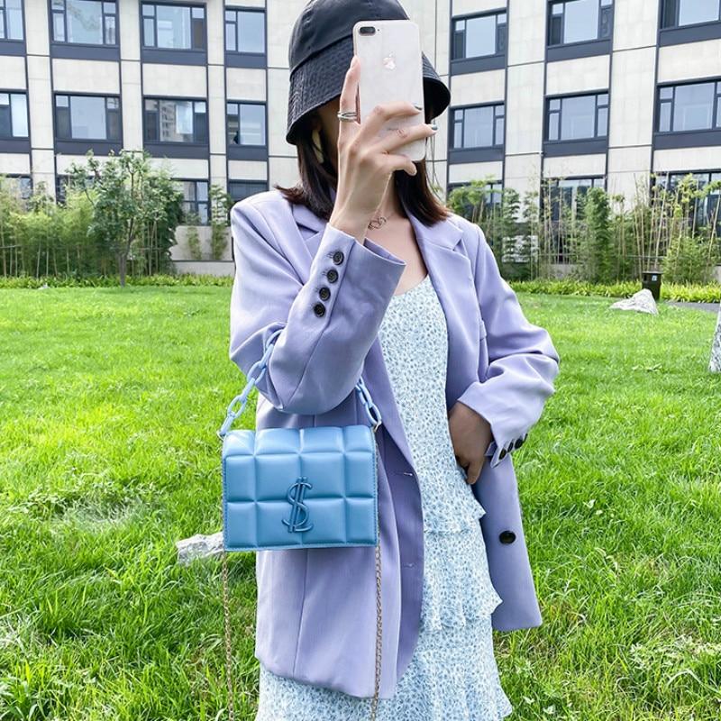 Luxury handbags designer leather chain shoulder bag handbag  crossbody bags for women fashion