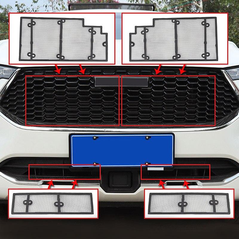 Hivotd Für Haval F7 F7X 2018 2019 2020 Zubehör Kühlergrill Insect Net Screening Insert Netz Dekoration Abdeckungen Auto Styling