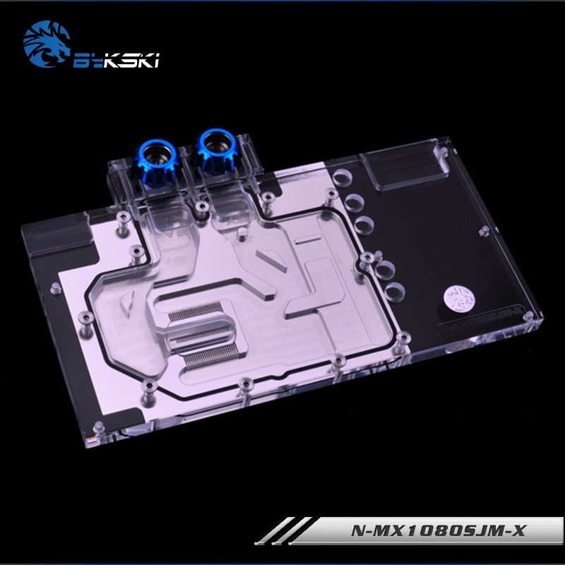 Bykski مياه التبريد GPU كتلة ل MAXSUN GTX1080 سوبر جت ستريم ، غطاء كامل ، N-MX1080SJM-X