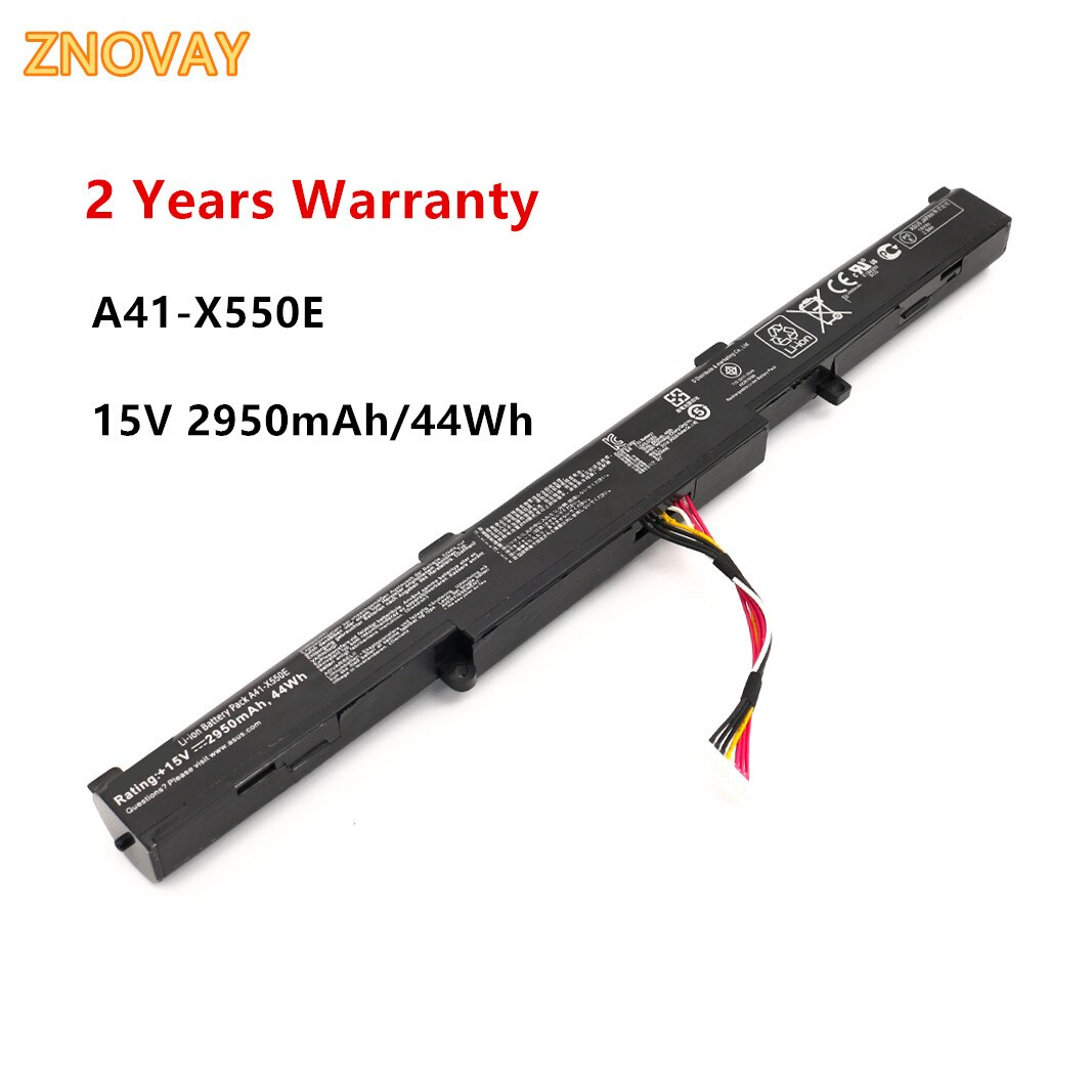 Фото - Laptop Battery A41-X550E For Asus X751M X751MA-DB01Q X751MA X751L K751L X750JA 15V 2950mAh new original laptop replacement li ion battery for asus x450e a450v k550d x751l a41 x550e 15v 44wh