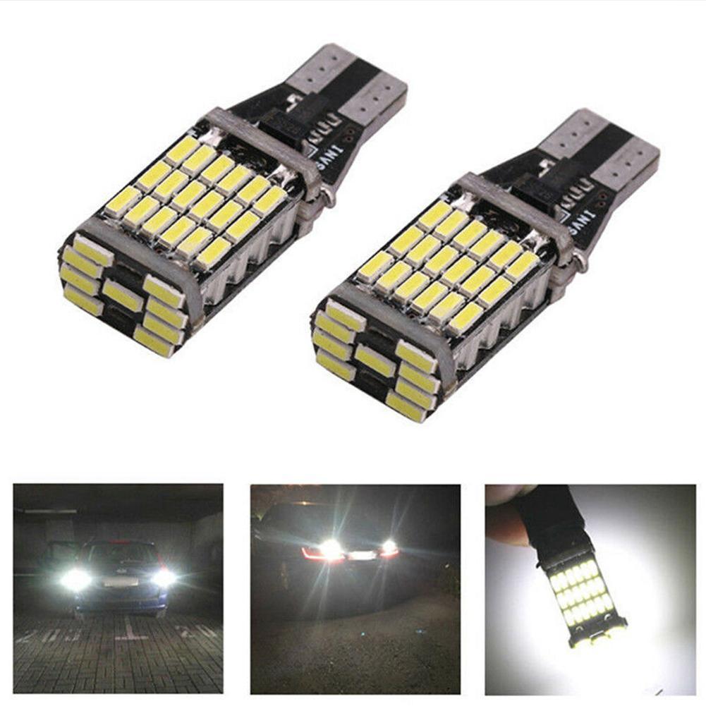 Светодиодсветодиодный автомобильные тормозные лампы T15 45SMD 4014, резервные лампы заднего хода, дневные ходовые огни, автомобильные товары, су...