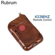 Rubrum 433 МГц DC 12 в 1 CH Пульт дистанционного управления для умного дома РЧ реле Передатчик Кнопка 433 МГц пульт дистанционного управления для ворот и дверей