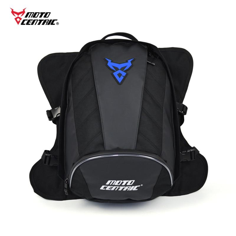 Bolso impermeable de la motocicleta 2020 bolso del tanque de la mochila de la motocicleta bolso del asiento trasero de la motocicleta de La multifunción bolsos del casco de la Moto