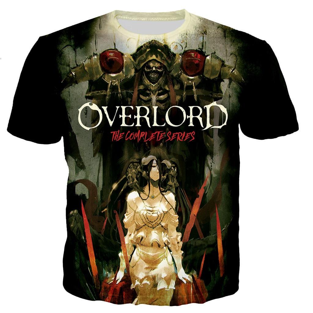 Overlord T Shirt Men/women 3D Printed T-shirts Casual Harajuku Style Tshirt Streetwear Tops