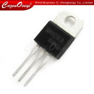 10pcs/lot Q6025L6 Q6025 TO-220 25A 600V new In Stock