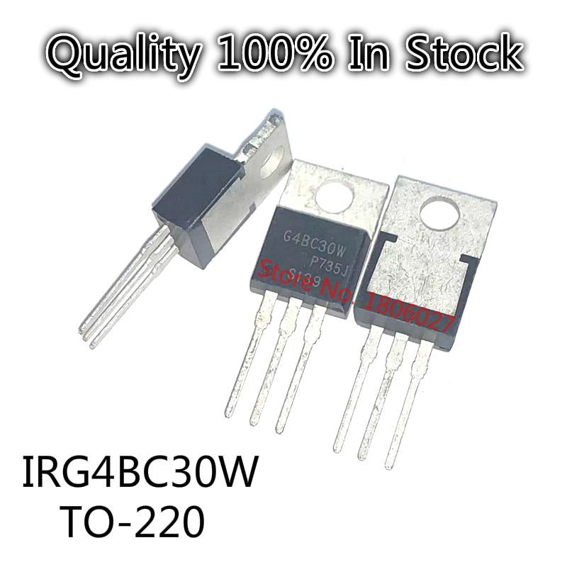 10PCS/LOT  IRG4BC30W TO220 G4BC30W TO-220 IRG4BC30 4BC30  In Stock